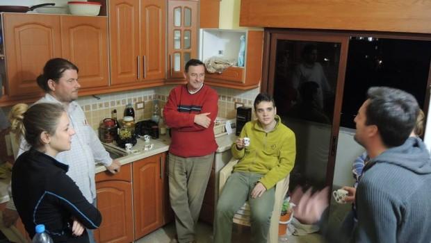 Esti diskurzus a konyhában