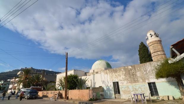 Marqab falu középkori mecseténél