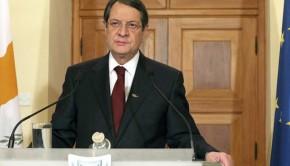 Nikosz Anasztasziádisz ciprusi elnök