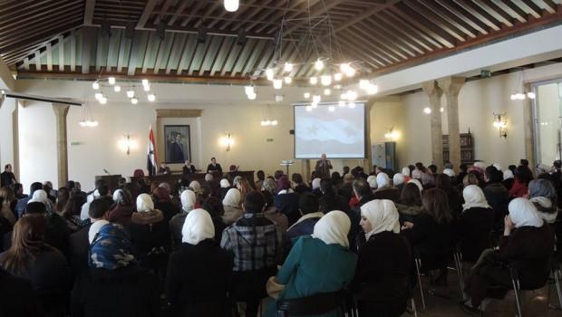 Pázmányos előadók a Damaszkuszi Egyetemen