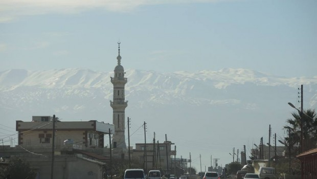 Visszaúton a libanoni határ felé