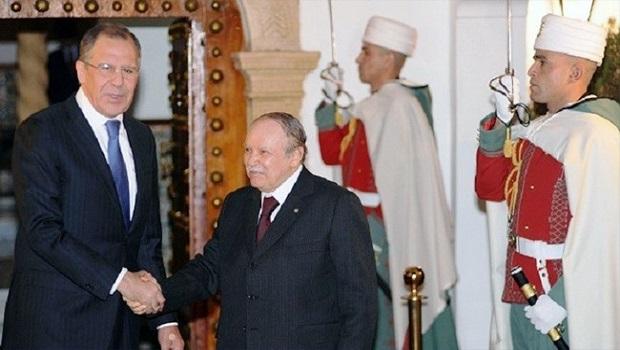 لافروف والرئيس الجزائري
