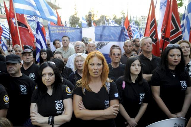 Az Arany Hajnal támogatói Görögországban