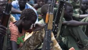 dál szudán katona