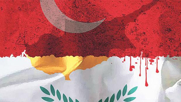 törk ciprus zászló