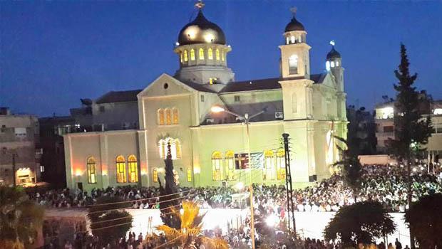 Damaszkusz Szent Kereszt Templom