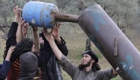 aleppoi terrosták rakéta gáz