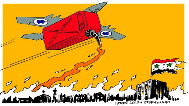 izraeli légitámadás Szíri ellen