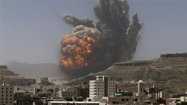 jemen szaúdi bombázás