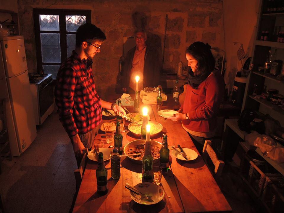 Terítés gyertyafényes vacsorához