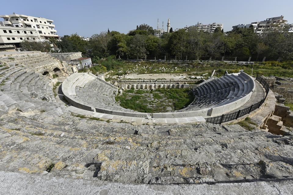 Városunk, Jabala római színháza