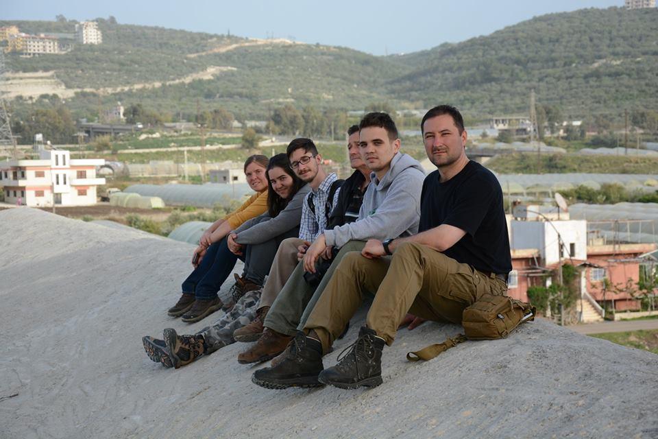 A magyar csapat a templom tetején smile hangulatjel