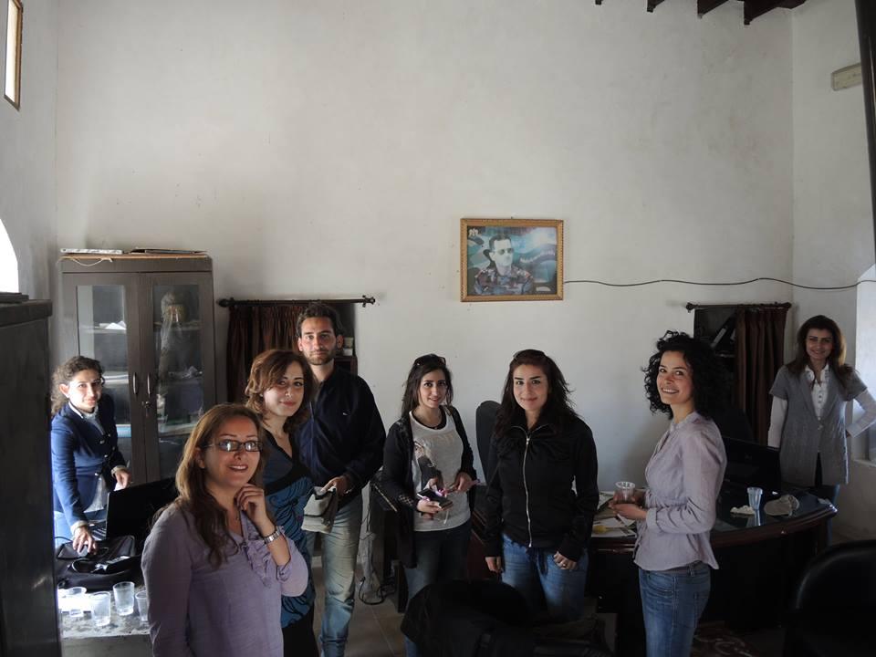 Kollegák-barátok a Tartúszi Régészeti Igazgatóságról