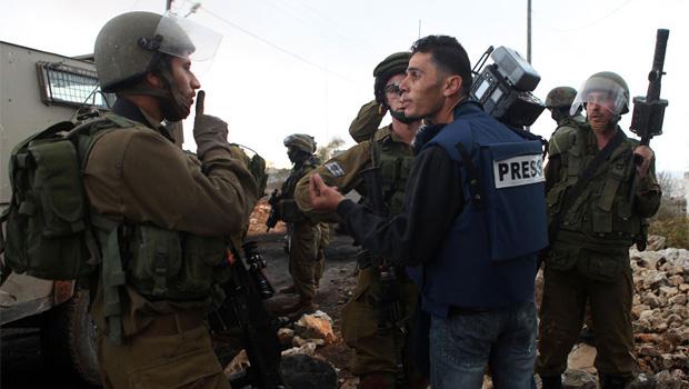 Izraeli katona palesztin