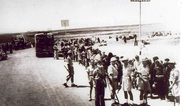 Palmach-displacing-Palestinians-in-Ramlah