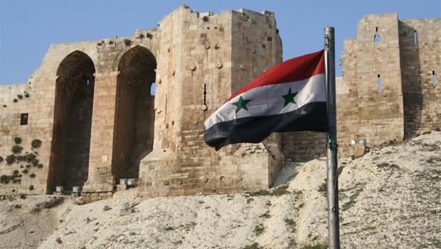 aleppo syria flag