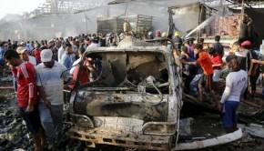 bagdadi robbantás irak