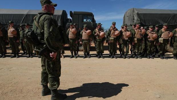 orosz katonák palmyra