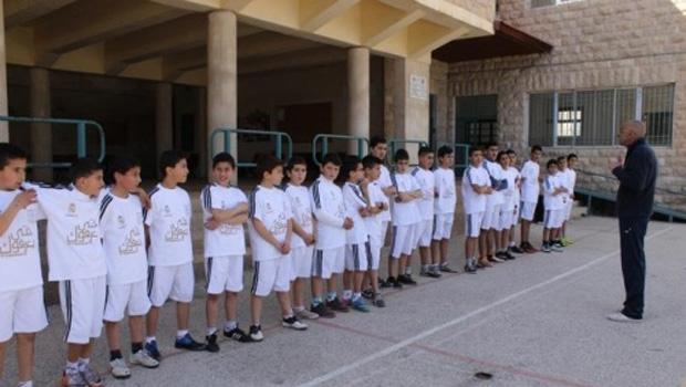 palesztin ifjú focisták