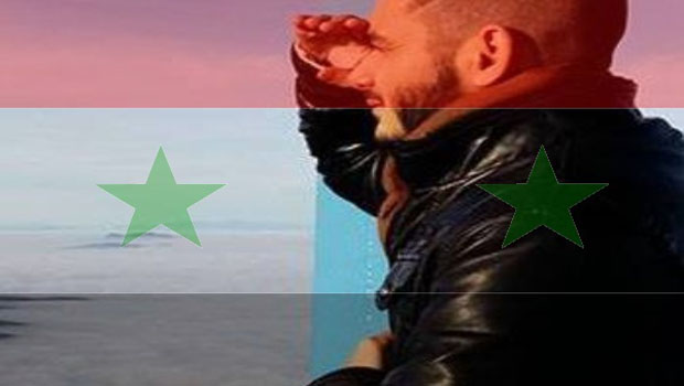 johnny red syria flag