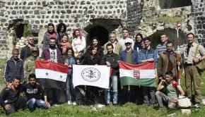 szír-magyar régészet margat