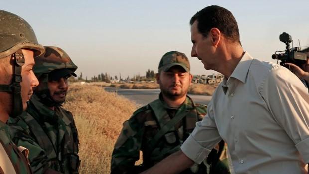 assad szír katonákkal 2