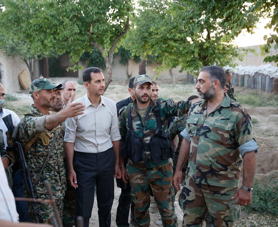 assad szír katonákkal 4