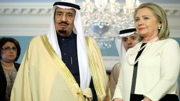 Saudi Arabia Key Funder of Hillary Clinton Campaign: Mohammed bin Salman