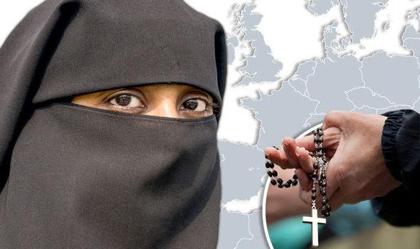 európa muszlim keresztény