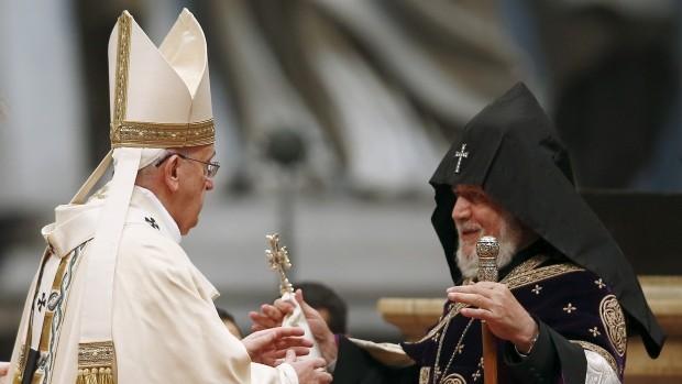 ferenc pápa örményország