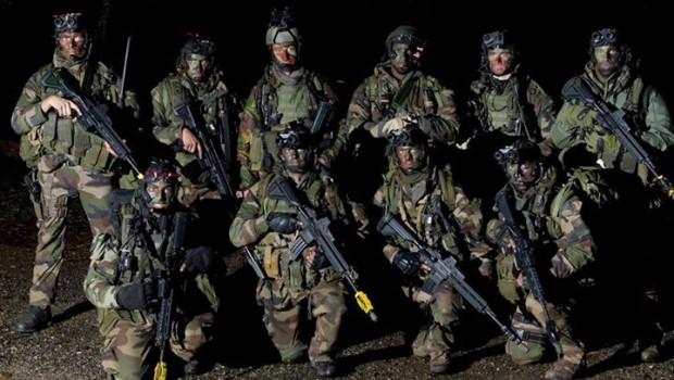 francia katonák
