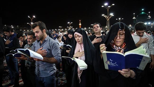 iráni muszlimok