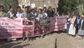 jemen tüntetés