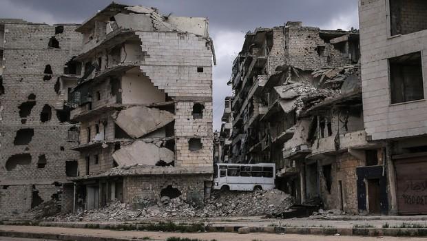 Aleppo barikád