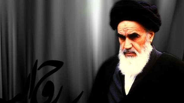 Khomeini imám (R.A.), az Iráni Iszlám Köztársaság alapítója és néhai vezetője