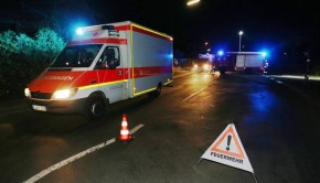 német mentő