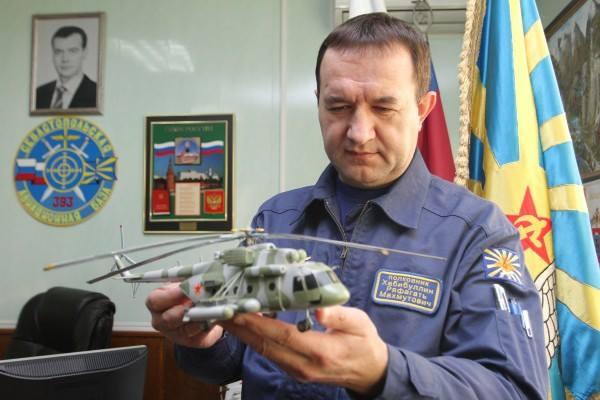 orosz pilóta
