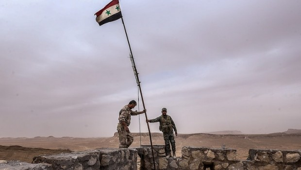 syria army palmyra