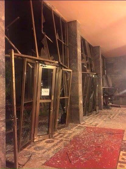 A török parlament a támadás után