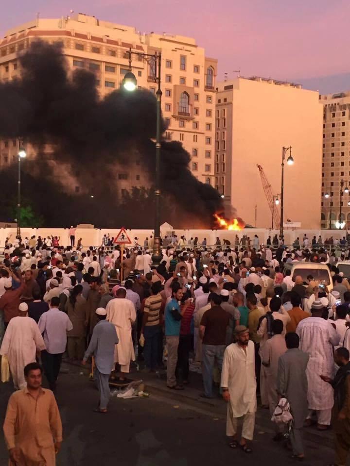 ujabb robbnatá szaud medina biztonsági épület