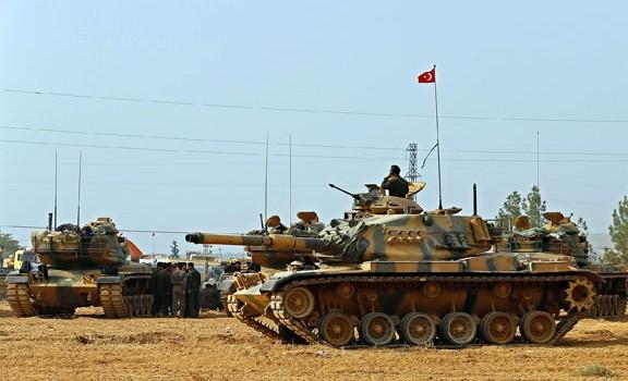 Sziria török tank