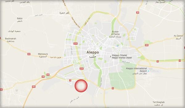 aleppo térkép dds