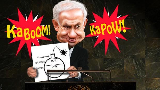 izrael atom irán netanyahu
