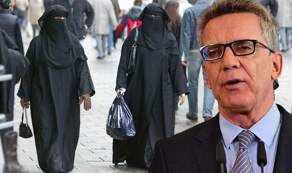német burka
