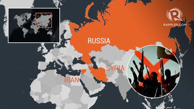 orosz szíria irán irak