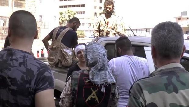 szíriai katonák