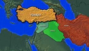 török irán irak szíria térkép