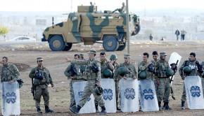 török katonák szíria