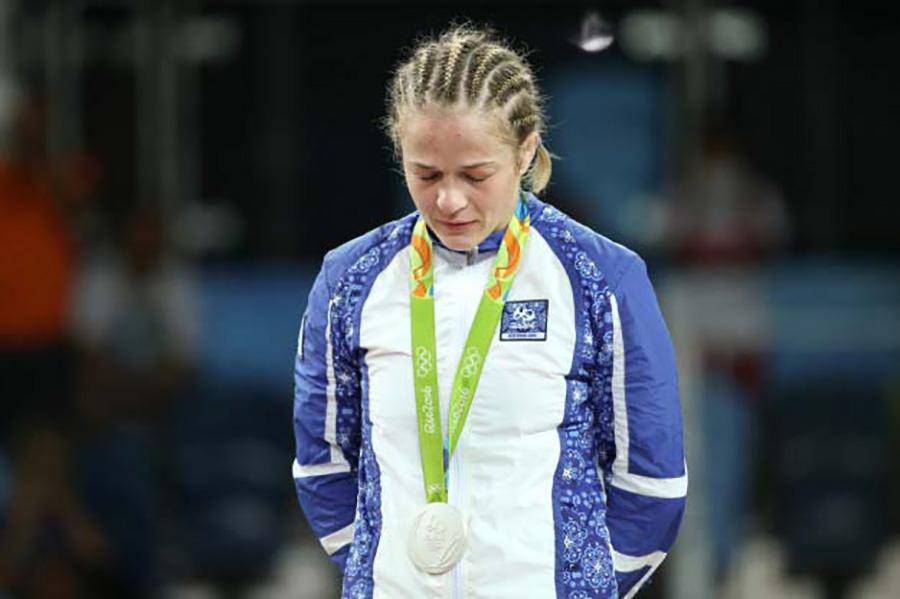 Maria Stadnik, Azerbajdzsán, birkózás, ezüst.   A 48 kilósoknál lett második a szabadfogású döntőben.
