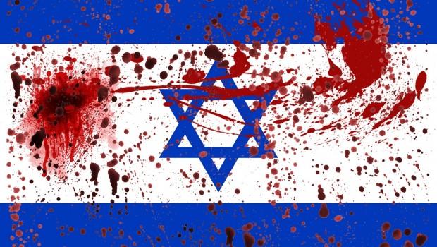 izrael zászló vér